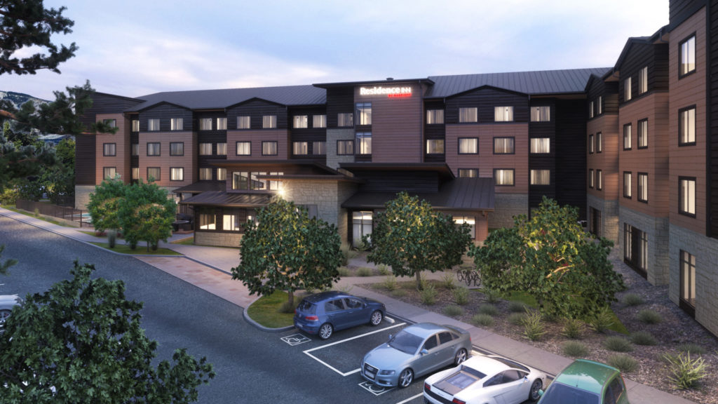 Iconergy commissioned the Residence Inn in Steamboat Springs, one of Colorado's premier resort communities.
